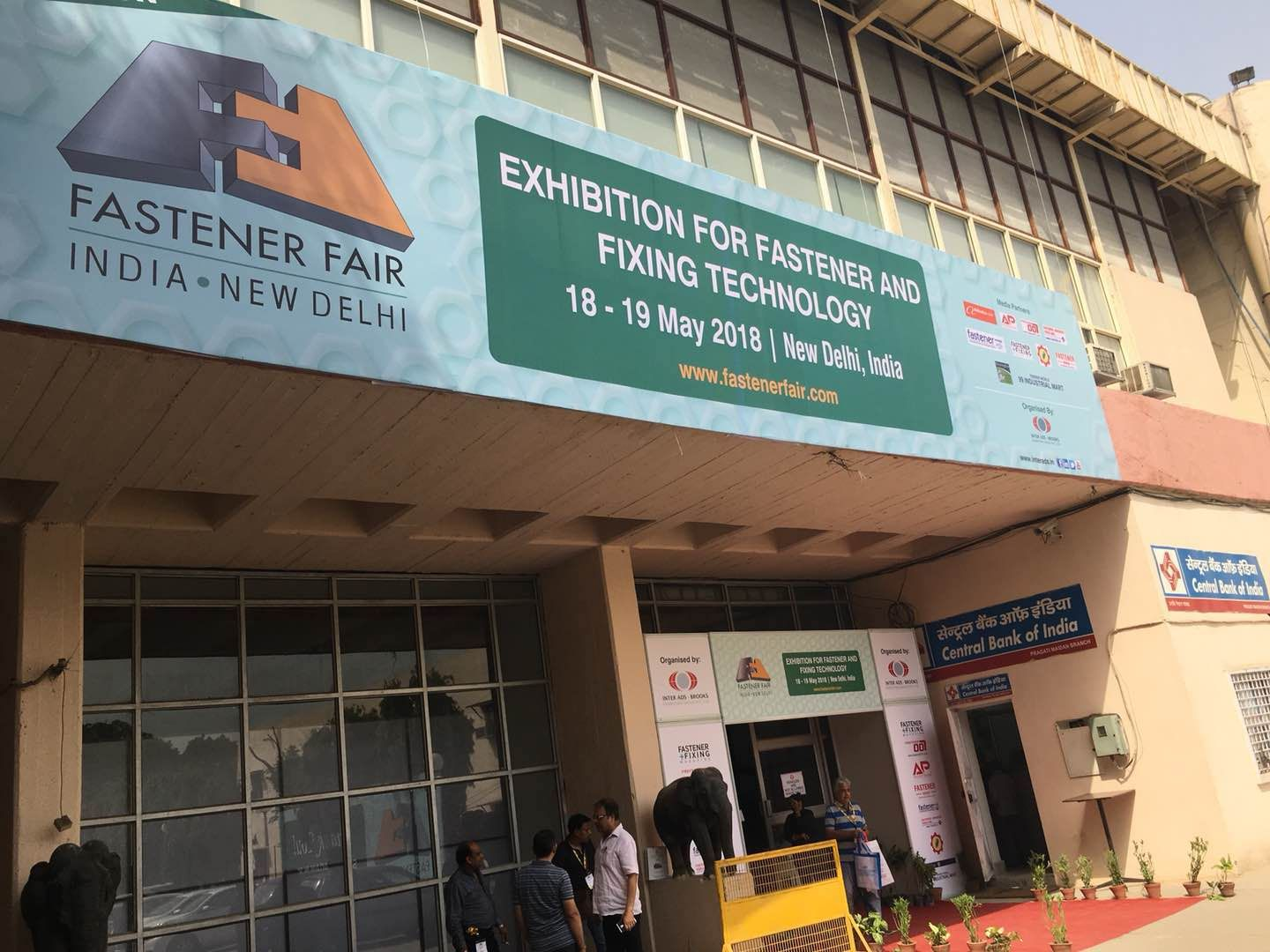 2018 International Fastener Expo India is in process