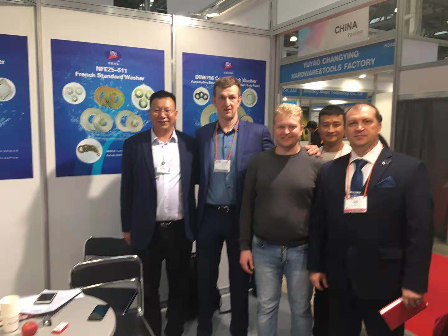 We are participating in International Fastener Expo Russia 2018